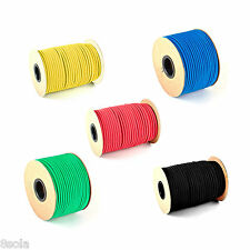 12mm Bungee Shock Cord Elastic Rope Tie Down Wide Choice of Colours & Lengths ™