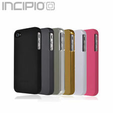 Incipio® Phone 4S 4 Case, [Feather] Semi Rugged Soft Shell Rubber Slim Cover
