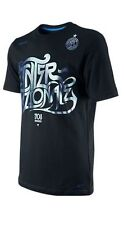 Nike Inter Milan 2011 - 2012 Poly Reflective Soccer Shirt  Brand New Black