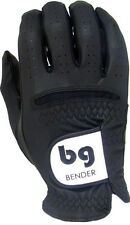 Black Synthetic Golf Glove