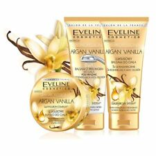 Eveline Spa Professional Vanilla Argan Body Balm Shower or Scrub