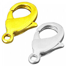 10 Carabiner 10mm silver gold Chains Closure Hook Closures Clasp 1cm