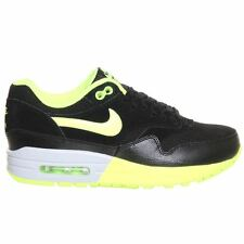 Nike Air Max 1 Black Lime Womens Trainers - 319986-030