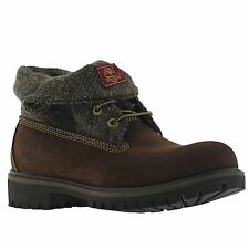 Timberland Icon Fabric Dark Brown Mens Boots - A11QV M