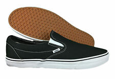 VANS. Authentic. Black Canvas. Slip On. Mens Shoe. Large US Size, 14, 15, 16.