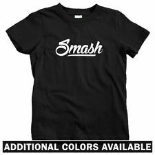 Smash Script Logo Kids T-shirt - Baby Toddler Youth Tee - Streetwear Street Art