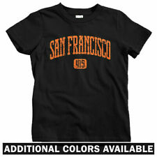 San Francisco 415 Kids T-shirt - Baby Toddler Youth Tee - California Bay Area SF
