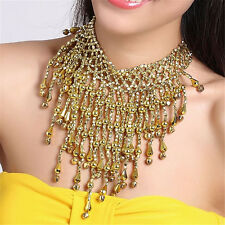 1PC Belly Dance Accessories Dancing Bell Necklace Costume