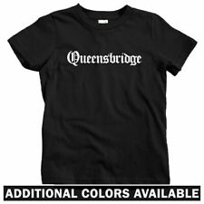 Queensbridge Gothic NYC Kids T-shirt - Baby Toddler Youth Tee - Queens New York