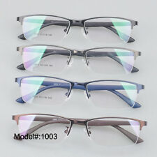 MX1003 Men halfrim spectacles myopia eyewear optical frames glasse RX eyeglasses