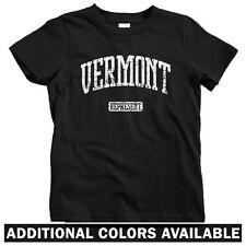 Vermont Represent Kids T-shirt - Baby Toddler Youth Tee - Burlington Killington