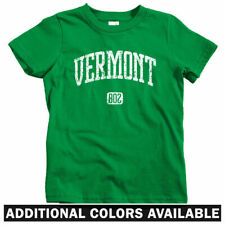 Vermont 802 Kids T-shirt - Baby Toddler Youth Tee - Burlington Killington Gift