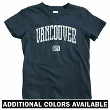 Vancouver 604 Kids T-shirt - Baby Toddler Youth Tee - British Columbia Canada BC