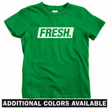 Fresh Boxed Logo Kids T-shirt - Baby Toddler Youth Tee - Street Art Streetwear