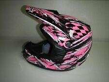 New Fulmer ECE 22-05  AFX30 Off Road Pink ATV Motorcross Adult Helmet Large