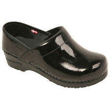 NEW! Sanita Women's Professional Occupational Closed Back Clog in Patent Leather