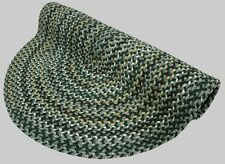 Thorndike Mills Vineyard Haven Polypropylene Green Meadows Country Braided Rug