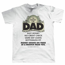 Bank Of Dad Mens Funny T-Shirt - Birthday Gift For Dad Fathers Day