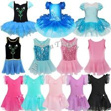 Toddler Girls Kids Ballet Dance Wear Princess Tutu Skirt Dress Dancing Costume