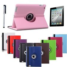 360 Rotating Flip Stand PU Leather Case Cover for the New Apple iPad Air 1