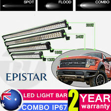 CREE LED Light Bar Flood Spot Combo Offroad Pickup SUV 4x4WD Truck 24/34/42/54""