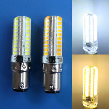 1/10x BA15D 3.5W 80 2835 SMD LED Light  Bulb Silicone Lamp 110/220V Warm/White G