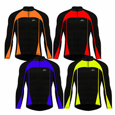 Windproof Cycling Jersey Jacket Full Sleeves Thermal Cycle Jacket Winter Jersey