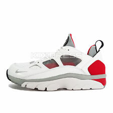 Nike Air Trainer Huarache Low [749447-102] NSW Training White/Grey-Red-Black