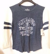 NWT LUCKY BRAND Woman's Triumph Motorcycle Graphic Tee T-Shirt Top Sizes S M & L