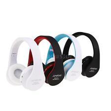 Wireless Bluetooth Headset Stereo Foldable Headphone Mic for iPhone Samsung Z8D4