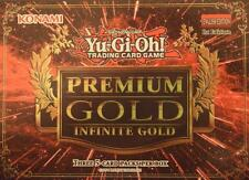 YuGiOh PREMIUM GOLD 3: INFINITE GOLD CHOOSE GOLD SECRET RARE CARDS PGL3-EN001-40