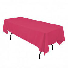Tablecloth Polyester Rectangular 50x120 Inch By Broward Linens (Variety colors)