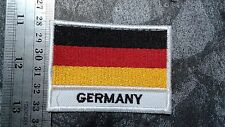 Country Flag German Germany National Travel Souvenir Woven Badge Applique Patch
