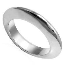 Knife Edge Wedding Band Ring In Platinum 950 4 to 9.5 #R1839