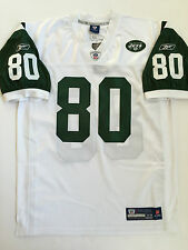 Vintage Authentic Wayne Chrebet New York Jets Reebok NFL Equipment Jersey White