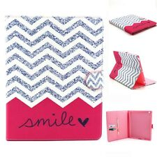 Magnet Flip Folio Leather Wallet Credit Card Slot Stand Case Pouch For Tablets D