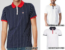 New Authentic Men Fila M Vintage BB1 POLO SHIRT LM161RM5