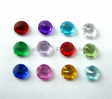 Round 5mm Crystal Mixed Floating Birthstone Charms For Memory Locket BS009_Mix