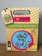 Go Create Eco Craft Kit - Plastic Bag Jewellery  - Arts And Crafts for Kids