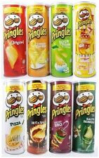 2x PRINGLES POTATO CHIPS SUPER STACK SNACK BURSTING WITH FLAVOUR TWO CAN 110 G.
