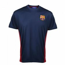 Barcelona Football Shirt Training Top Mens Barcelona Jersey All Sizes Poly Tee