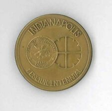 Indianapolis, Indiana Sesquicentennial Medal, 1821-1971