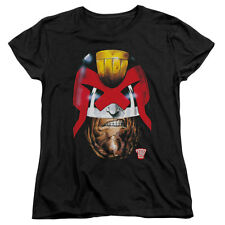 Judge Dredd  Dredd's Head Girls Jr Black Rockabilia