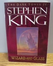 """1997 Dark Tower Book IV """"Wizard and Glass"""" by Stephen King Paperback Book"""