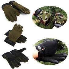 Non-slip Outdoor Tactical Cycling Weight Lifting Gloves Breathable Absorbent