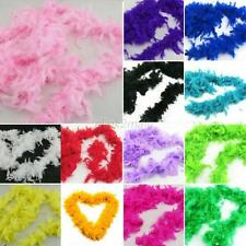 Feather Boa Dress up Wedding Party Burlesque Fancy Dress Colorful Dancing Props