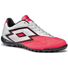 Lotto 2014 Zhero Gravity V 700 Turf Soccer Shoes Brand New White / Coral Pink