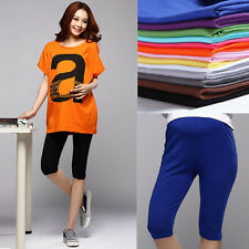 New Pregnant Womens Leggings Cotton Elastic Maternity Casual Belly Care Pants