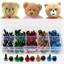 100pcs Lovely Plastic Safety Eyes Washers for Toy Teddy Bear Doll