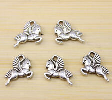 30/60/100 PCS wholesale:Very beautiful pegasus Tibet silver Charm pendant